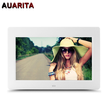 10″ HD Digital Photo Frame 1024*600 Electronic Picture with Album Alarm Clock MP3 MP4 Movie Player Function with Remote Control