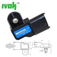 Original sensor MAP de presión de sobrealimentación para Vauxhall Vectra Signum Zafira Astra Frontera 0281002437, 93171176, 24459853 0 281 002 437
