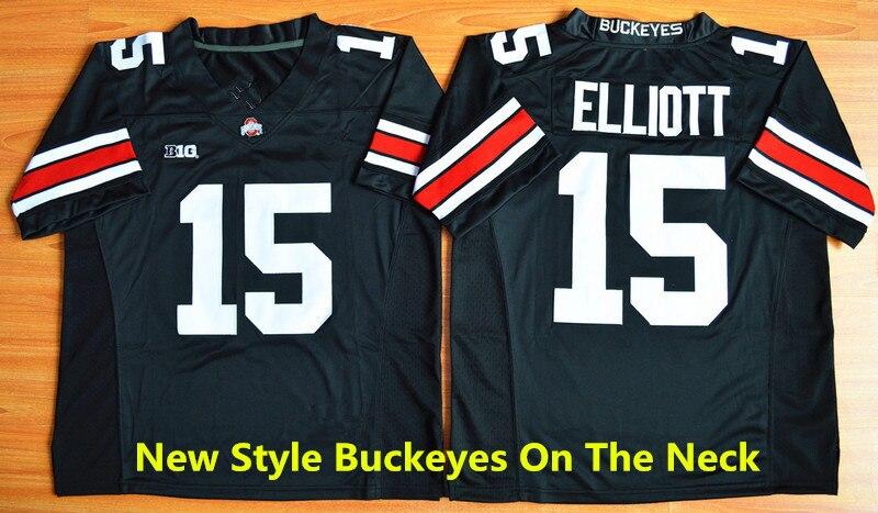 sports shoes 18e9c c3f99 Free Shipping Cheap Ohio State Buckeye Jerseys 15 Ezekiel ...