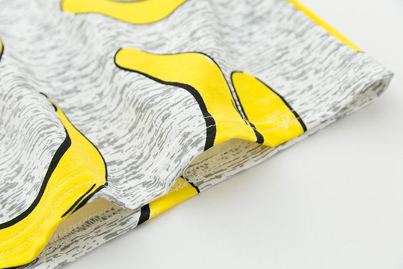 HTB1IKQ.PFXXXXaraXXXq6xXFXXXv - Hot Style Pineapple Print Tees Short Sleeve T-shirt Women