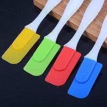Hot Sales Resistance High temperature Food-grade silicone spatula Cake scraper baking cream blade Brush стоимость