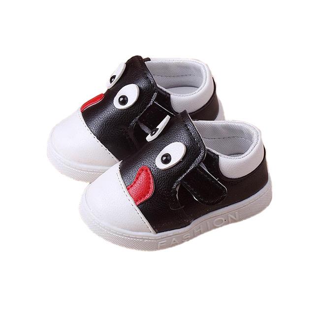 Lindo angry birds cartoon causales zapatos de bebé encantadores zapatos del niño de $ number $ number Meses del bebé recién nacido prewalker infantil ocio zapatos caliente