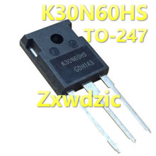 10PCS K30N60HS TO-3P K30N60 SKW30N60 SKW30N60HS IKW30N60HS TO-247 30N60 New and original IC irg4pc40f to 247