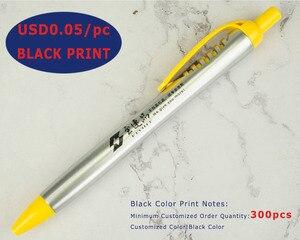 Image 4 - 50 шт., серебряные пластиковые шариковые ручки насадка