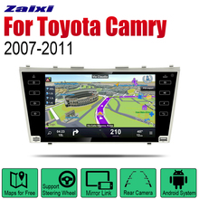 ZaiXi Android 2 Din Auto Radio For Toyota Camry 2007~2011 Car Multimedia Player GPS Navigation System Stereo