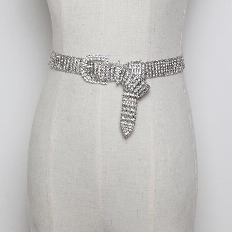 Ladies Print Leather Belt,Diamante Stylish Wild Belt Decoration Dress Jeans Belt