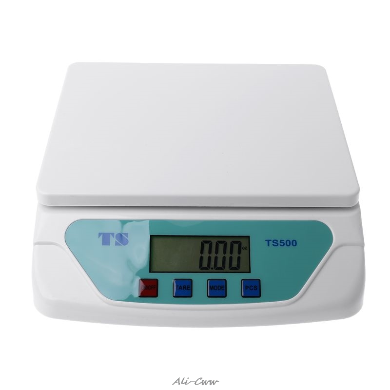 Tools : 30kg Electronic Scales Weighing Kitchen Scale LCD Gram Balance for Home Office Warehouse Laboratory Industry