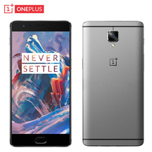 Original Oneplus 3 Cell Phone 6GB RAM 64GB ROM Snapdragon 820 Quad Core 5.5″ HD 16MP Camera Android 6.0 OS 4G LTE Fingerprint