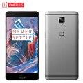 "Original oneplus 3 teléfono celular 6 gb ram 64 gb rom snapdragon 820 quad core 5.5 ""HD 16MP Cámara Android 6.0 OS 4G LTE de la Huella Digital"