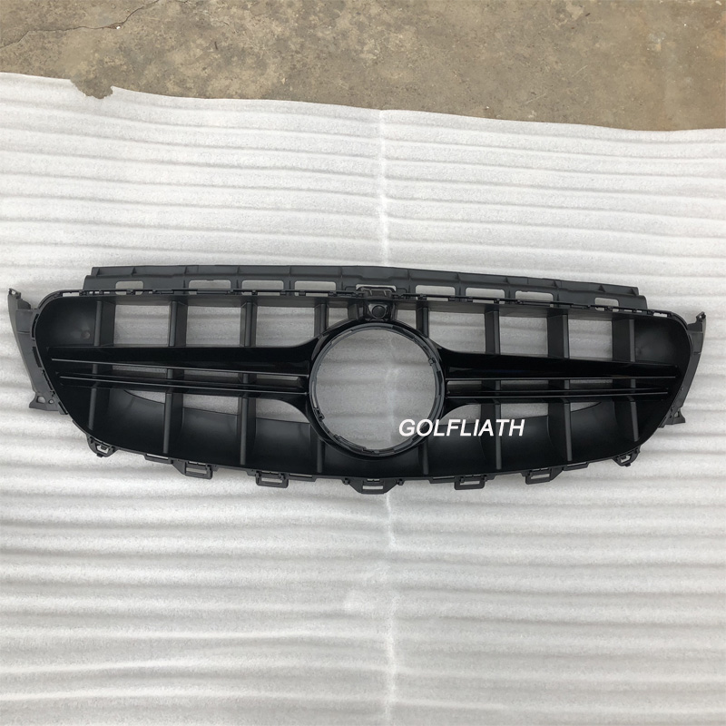 Front Bumper Replacement Cost >> Us 79 0 New E Class W213 Grille E63 Front Bumper Grill Replacement Auto Mesh For Mercedes E200 E300 E320 Sports 2016 2018 In Racing Grills From