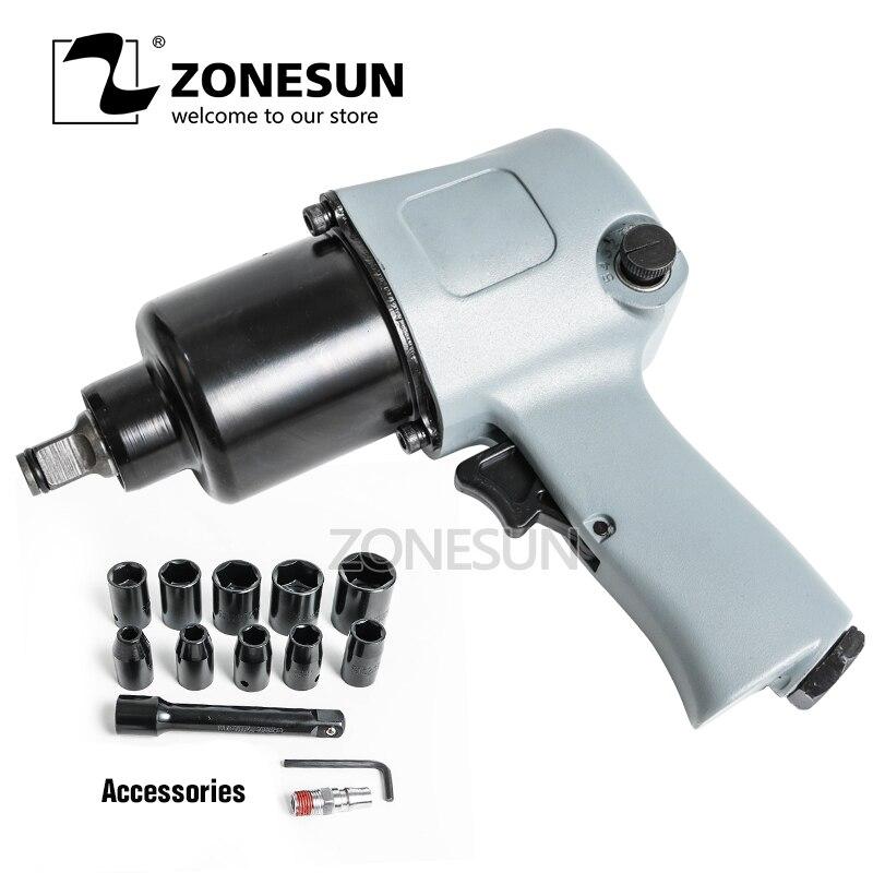 zonesun 1 2 air ratchet wrench air tools mini workshop tools repair car spanners ZONESUN 16mm Bolt size Pneumatic Wrench, Air Tools,Spanners for Car Bicycle Repair Pneumatic Tools