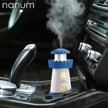 Маяк привело ультразвуковой увлажнитель тумана Fogger USB увлажнители воздуха освежитель воздуха Арома диффузор дома Приспособления