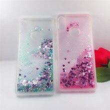 For Xiaomi Mi A2 case Dynamic Liquid Glitter Bling Sand Soft TPU Phone Coque 6X 6 X cover