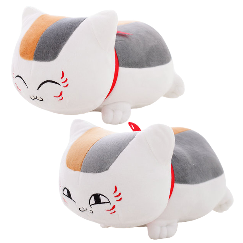 20cm Natsume Yuujinchou Nyanko Sensei Plush Cat Anime Doll Toy Christmas Gift for Children new hot 16cm natsume yuujinchou cat nyanko sensei action figure toys collection christmas gift
