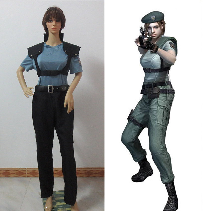 Resident Evil Costumes Newest Jill Valentine Cosplay Costume