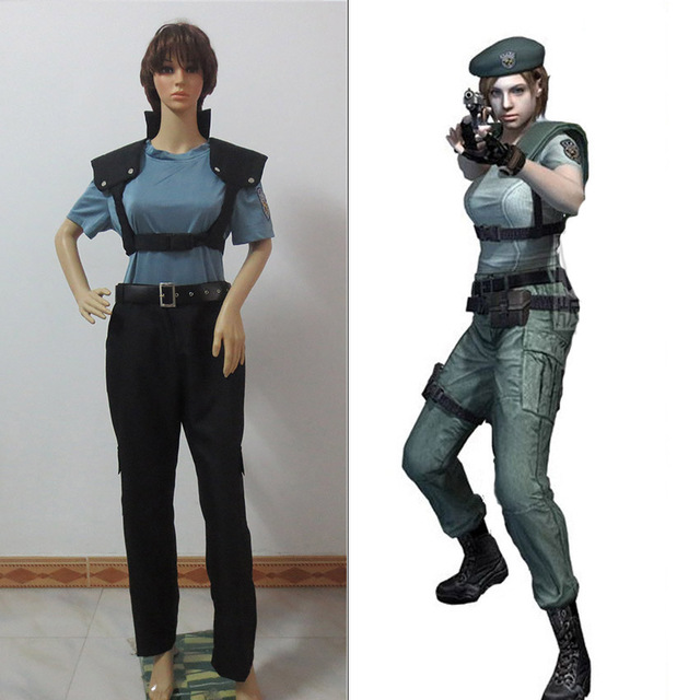 Resident Evil Costumes Newest Jill Valentine Cosplay Costume In Game