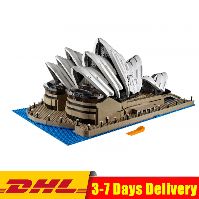 DHL IN STOCK 2989Pcs LEPIN 17003 Sydney Opera House Model Building Kits Blocks Bricks Toys 10222 цена