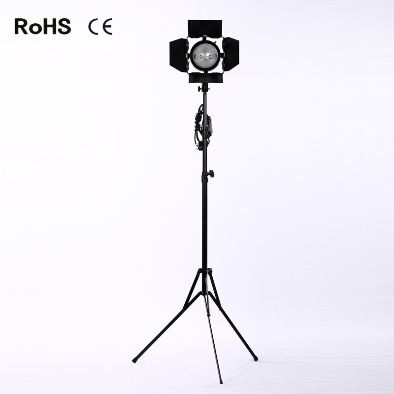 Continuous Light Photo Video Studio Spotlight with Red Head Lamp 800W for Studio Photographic Equipment+2.4m thicken light stand все цены