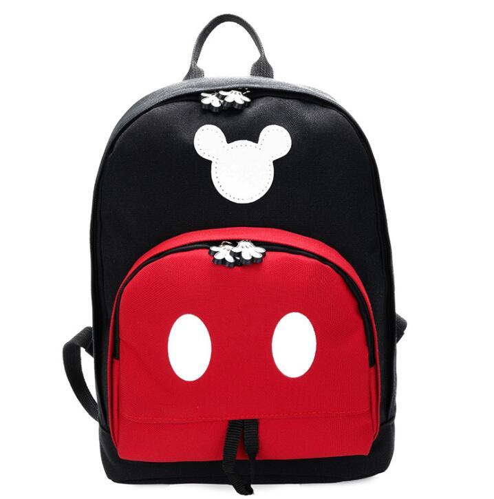 128ae4b47fc5 2019 Dis дети рюкзак Новый Микки м школьная сумка для мальчиков и девочек  рюкзаки полиэстер милый