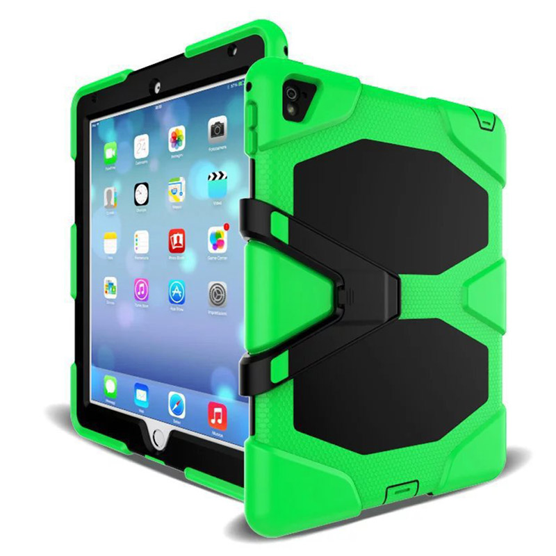 Tablet Case For iPad Mini 1 2 3 Waterproof Shock Dirt Snow Sand Proof Extreme Army Military Heavy Duty Kickstand Cover Case (1)