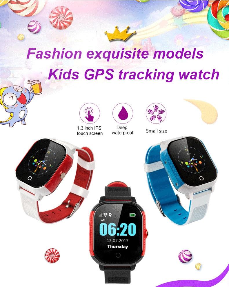 Smart watch kids GPS SOS watch LBS WIFI accurate positioning child  smartwatch waterproof smart wristwatch support micro sim card