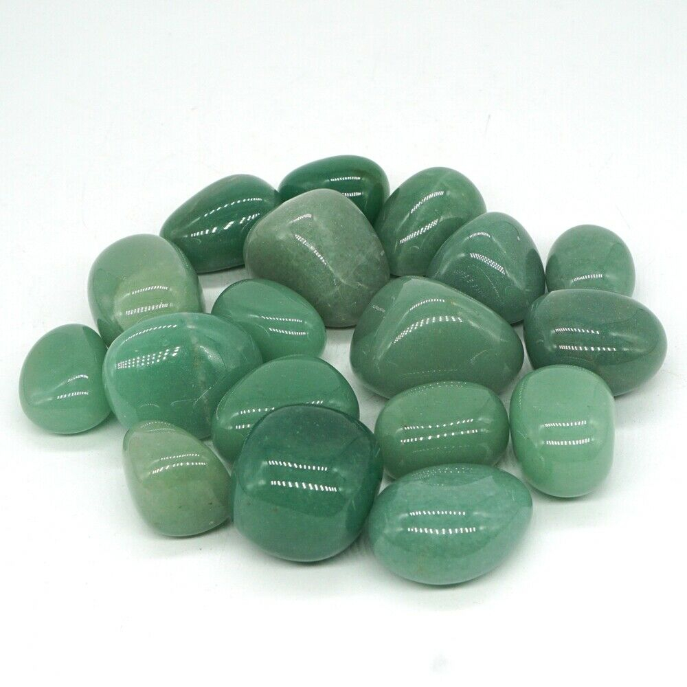 green aventurine quartz crystal tumbled large stone reiki healing natural stone and minerals home decoration for sale 100g