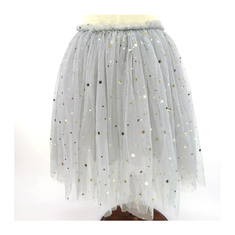 e505e3bdc8 Fashion Baby Girls Skirts Sequined Stars Ball Grow Skirts For Girl Clothes  Tutu Mesh Tulle Jupe Fille 18M 13Years DQ827-in Skirts from Mother & Kids  on ...