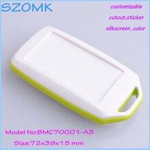 20 pcs/lot abs GPS control box for electronics solar enclosures box industrial enclosures abs plastic 72x39x15 mm