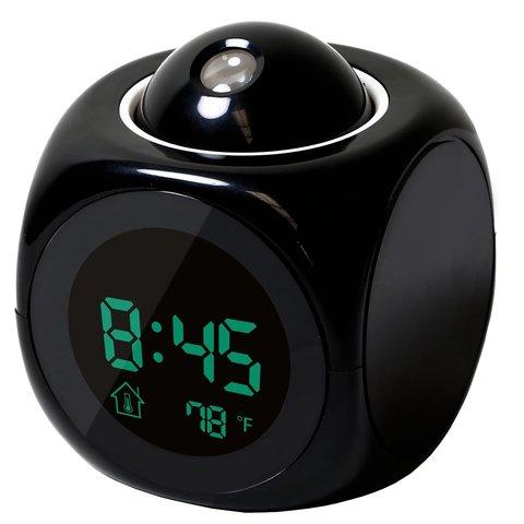 Led Display Projection Led Clock Electronic Desktop Alarm Clock Digital Table Clocks Snooze Function Cables Home Decor BTZ1 Karachi