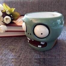 Kreative keramik Milch Cartoon Becher personalisierte kaffee Zombies Memorial Becher Pflanzen zombies becher Kostenloser Versand Hochzeit dekoration