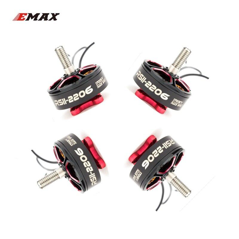 цены EMAX RSII 2206 FPV Brushless Motor 1700KV 1900KV 2300KV 2700KV CW CCW for FPV Racing Quadcopter Kvadrokopter RC Drone