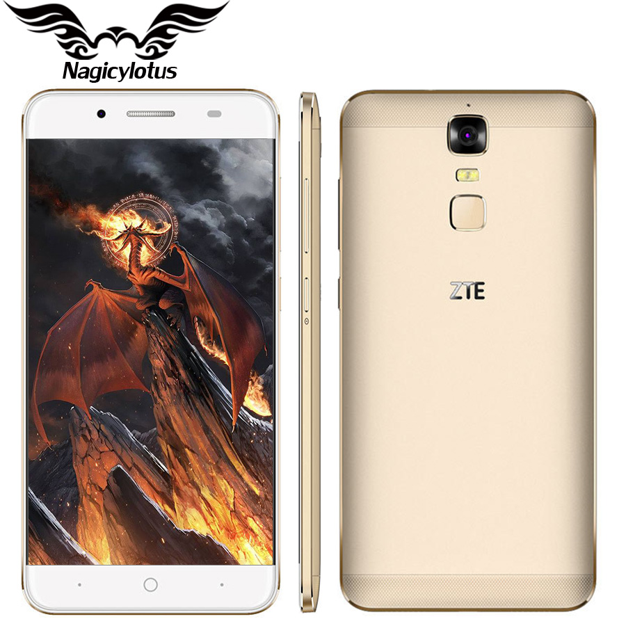 Original ZTE Blade A2 Plus 4G LTE 5.5″FHD MTK6750T Octa Core 3G RAM 32GB ROM Dual SIM 16MP Android 6.0 FingerPrint  Mobile Phone