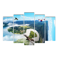 Canvas Wall Art Pictures Modular Home Decor 5 Pieces Paintings HD Prints Poster Framework Abstract
