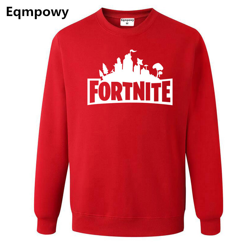 2018 Nouveau Fortnite Imprimer Mens Hoodies Shirts Mode Casual Fortnite Sweat Shirts Manteau Veste Unisexe Sweatershirts M-XXL