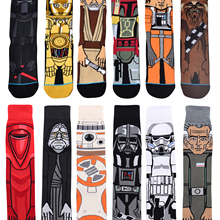 Hot Movie Star Wars Stockings for Adult Men Women Jedi Order Master Yoda Cosplay Cotton Funny Tide L
