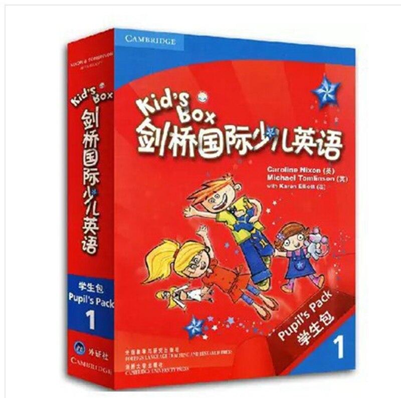 Coffret enfant Cambridge International livre anglais pour enfants livre elèves Pack etudiant Grade 1 Cambridge anglais pour enfants
