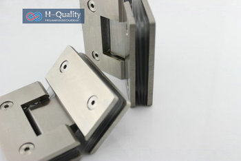 Thicken 135 Degrees Precision Cast Stainless Steel Glass Door Clamp, Glass Clip, Shower Door Glass Clip, Glass Bracket 90 degree shower door hinge solid copper spring hinges glass to wall fitting glass clamp dc 3041
