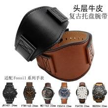 ab0fb9e6fa5c Nuevo de alta calidad original 1 1 hacer banda fósiles de reloj de cuero  cinturón