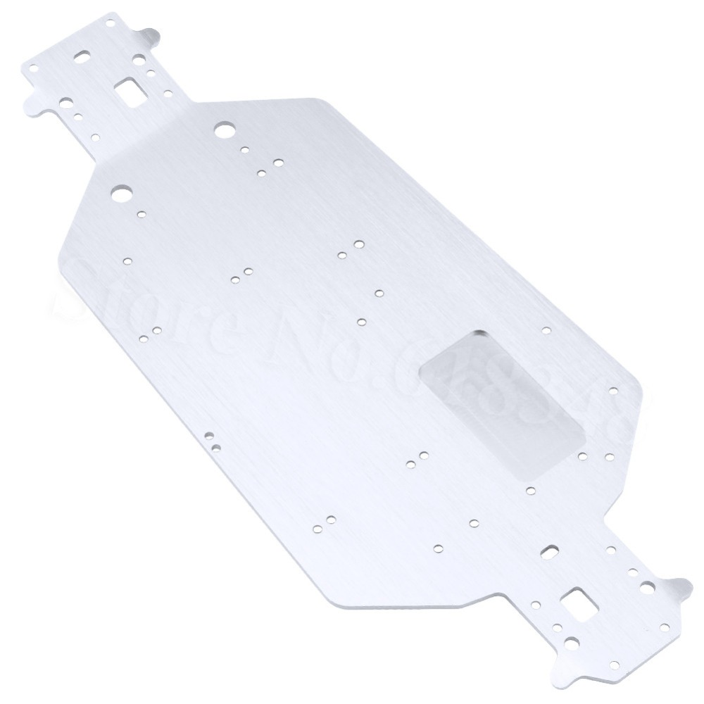 HSP 04001 03601 Aluminum Chassis Metal For EP RC 1/10 Off Road Buggy Monster Truck 94107 94111 BRONTOSAURUS XSTR Upgrade Parts hsp 1 10 off road buggy body 2pcs 31 17 6cm 10706 10707 106ma2 rc car electric rc car bodyshell for 94107 94107pro