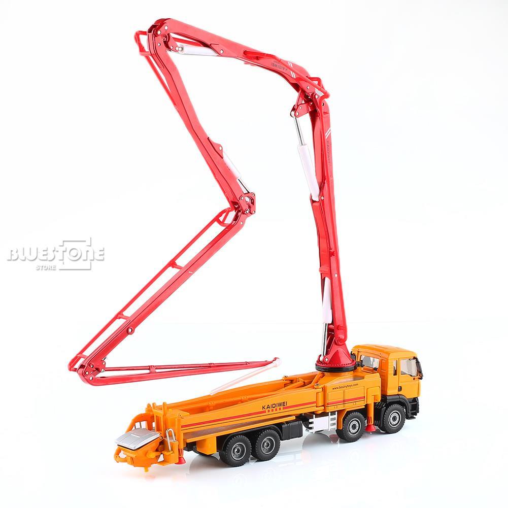 KDW 1:55 Масштаб литья под давлением бетононасос грузовик строительство автомобиля Модель игрушки