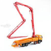 KDW 1:55 Skala Ciężarówka Pompa Do Betonu Budowy Pojazdu Diecast Model Samochodu Zabawki
