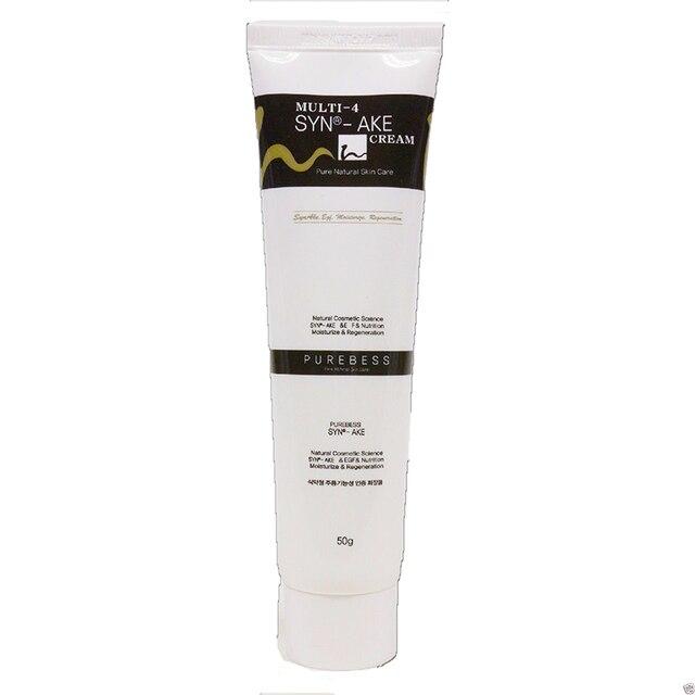Melhor coreia cosméticos purebless multi 4 syn ake creme 50g anti rugas cobra veneno creme SYN AKE 4%
