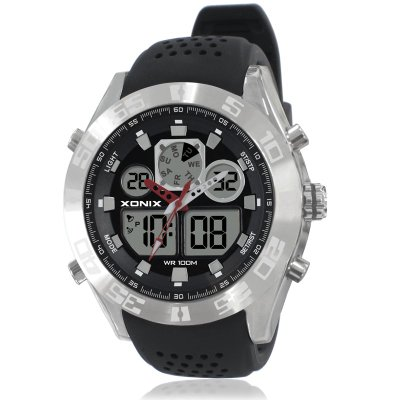 ᗔXONIX Men Sports Watches Waterproof Φ_Φ 100m 100m Analog ...