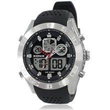 XONIX Men Sports Watches Waterproof 100m Analog-Digital Watch Running Swimming Diving Wristwatch Relojes Hombre Montre Homme MY
