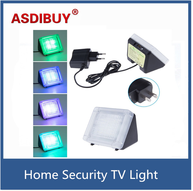 Plug and play Anti-theft TV Video Surveillance Motion sensor lights Fake simulator TV flash LED house protection light 3502080 canemu anti theft simulator