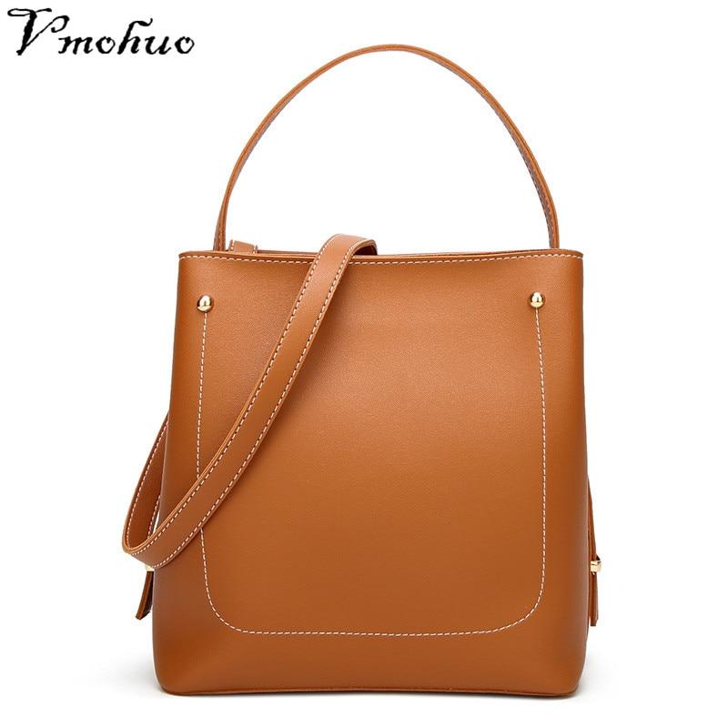 Leather Ladies Bags Women green Vmohuo High Brand Messenger Bag Brown Shoulder black beige Bucket Quality Crossbody Fashion Designer Pu 7wHnIY