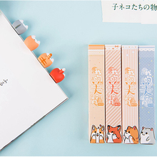 Lovely Cartoon Kawaii Dog Cat Hamster Fox Butt Ass Bookmarks Novelty Book Reading Item Creative Gift for Kid Children Stationery mr paper 8 colors high quality pu leather bookmarks for novelty book reading maker page creative vintage style pu bookmarks