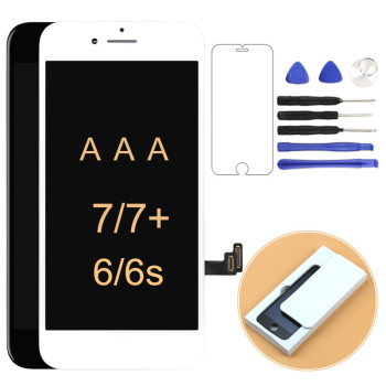 AAA For iPhone 6 6s 7 7P LCD Touch Digitizer Screen Alibaba China For iPhone 6 6s 7 7P Display With Assembly Replacement +gifts