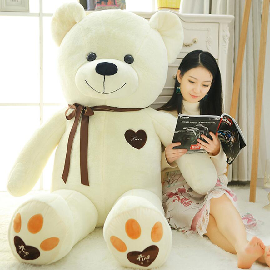 100cm Hot Sale Hug Bear Plush Toy Teddy Bear Stuffed Animal Doll Valentine's Day Gifts