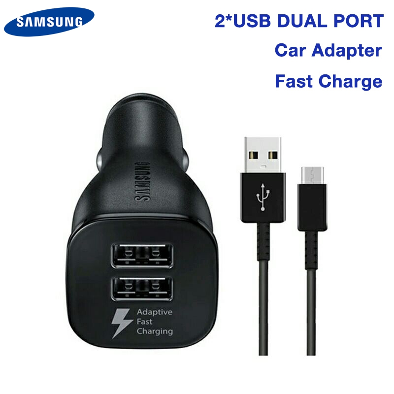 Original Fast Charging Car <font><b>Charger</b></font> EP-LN920 For Samsung <font><b>Galaxy</b></font> S8 S9 S9+ S10 Plus A8s S7 S6 A60 A70 Note 8 Note 9 <font><b>A9</b></font> Star C9 C5 image